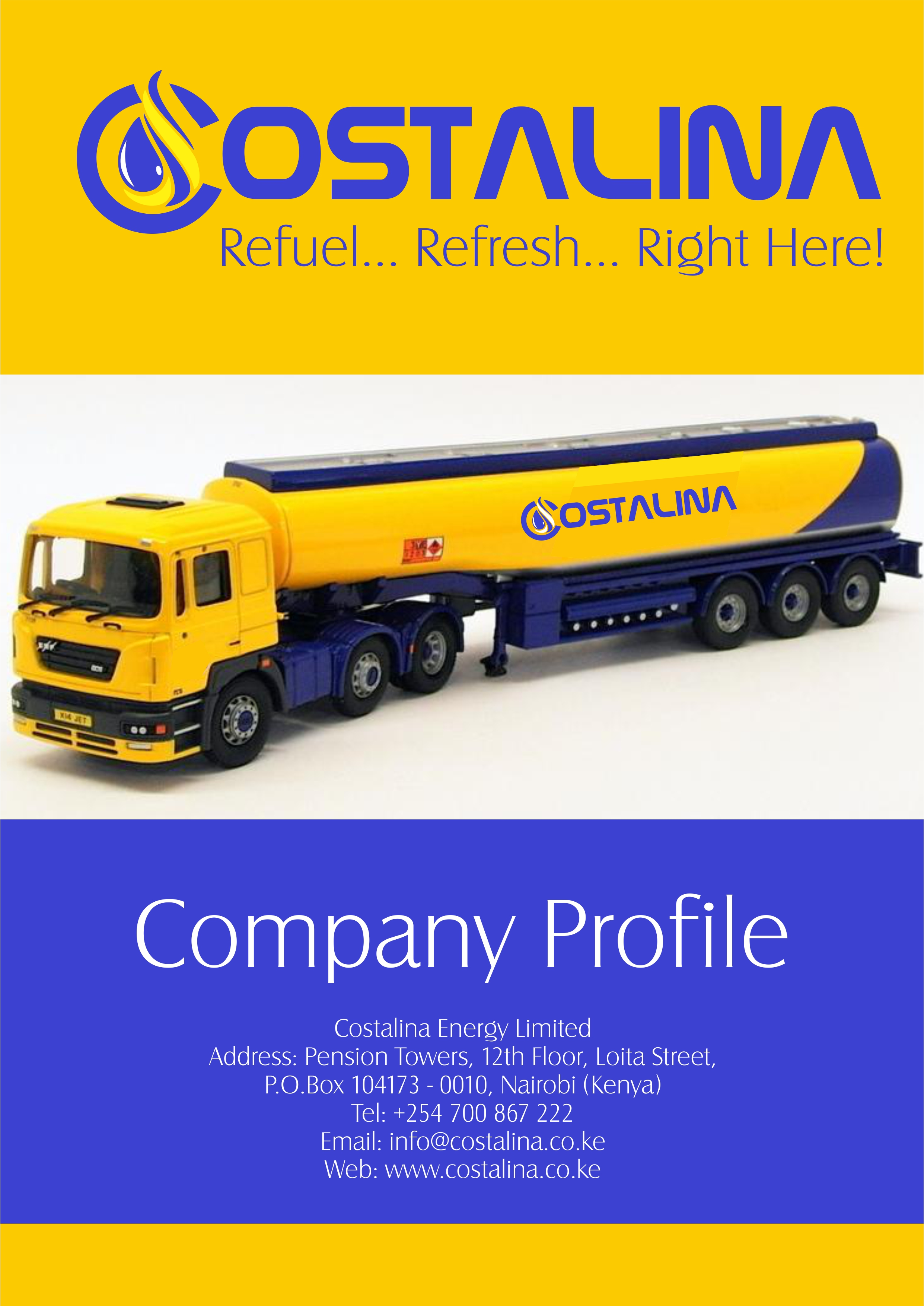 Cosstalina Energy Limited