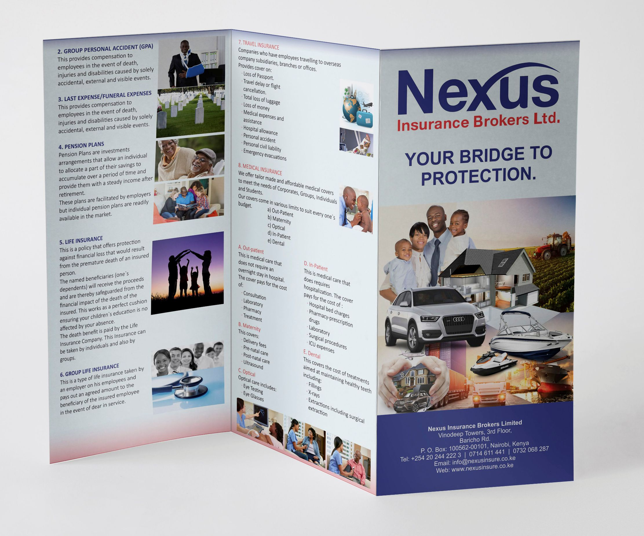 Nexus Insurance Brokers - Flyers